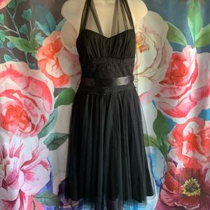 Frederick's of Hollywood Tulle Halter Dress